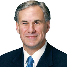 Governor Greg Abbott of Texas