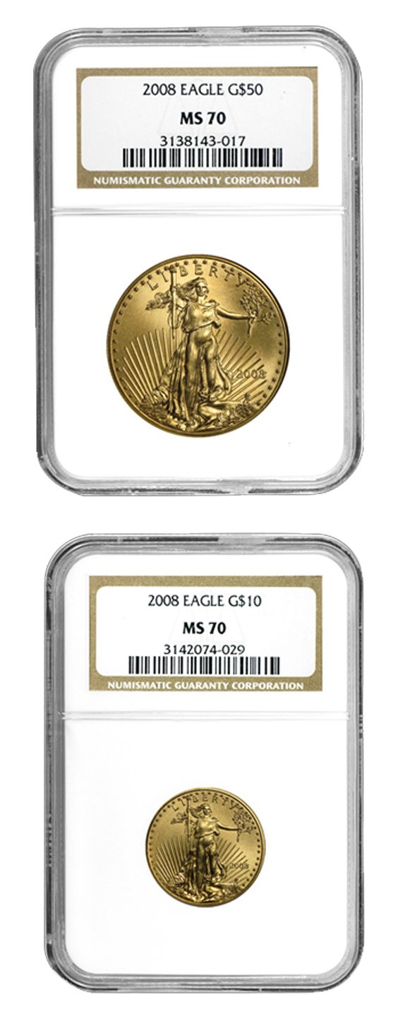 Graded Gold Eagle Blowout!