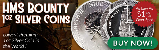 Buy the HMS Bounty 1 Oz Silver Coin from Money Metals Exchange