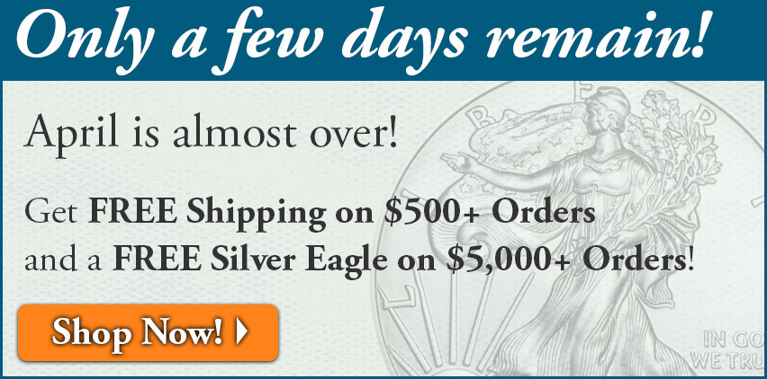 Money Metals Exchange: Free Shipping on $500+ Orders