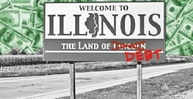 Illinois the land of debt
