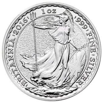 invest in british silver britannia coins