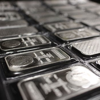 Invest in Silver Bars from Money Metals Exchange