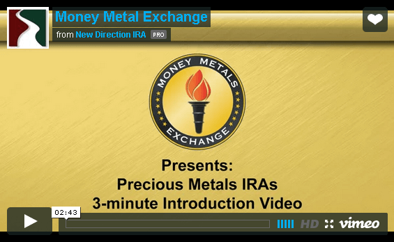 Three minute precious metals IRA introduction video