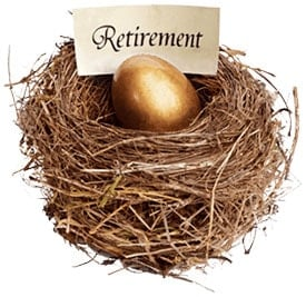 Gold Retirement Nest Egg