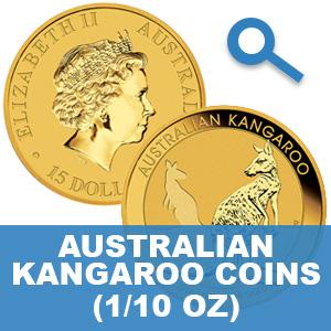 Australian Kangaroo Gold Coins