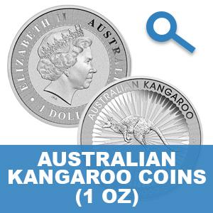Australian Kangaroo Silver Coin