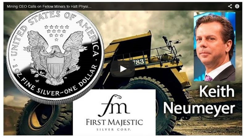 First Majestic Silver CEO, Keith Neumeyer