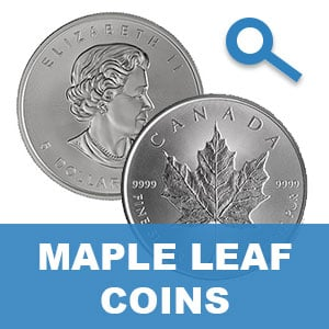 Maple Leaf Silver Coin