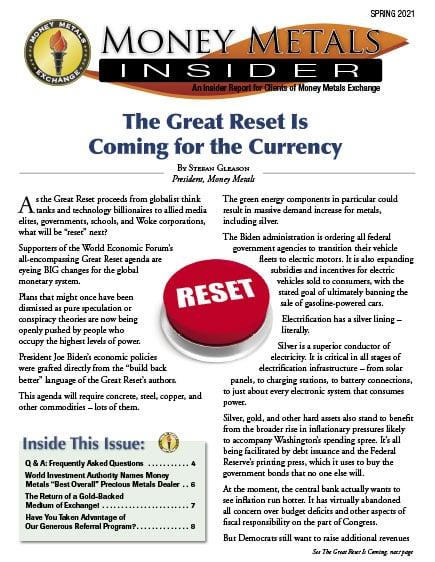 Money Metals Insider - Spring 2021