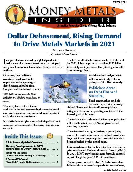 Money Metals Insider - Winter 2021