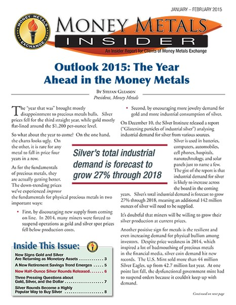 Money Metals Insider - January-February 2015