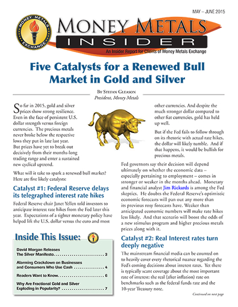 Money Metals Insider - May-June 2015