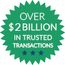 $600 Million in Trusted Transactions