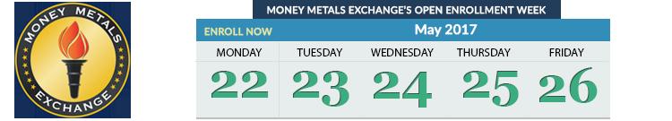 Money Metals Monthly Enrollment Week