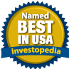 Named Best in USA by Investopedia