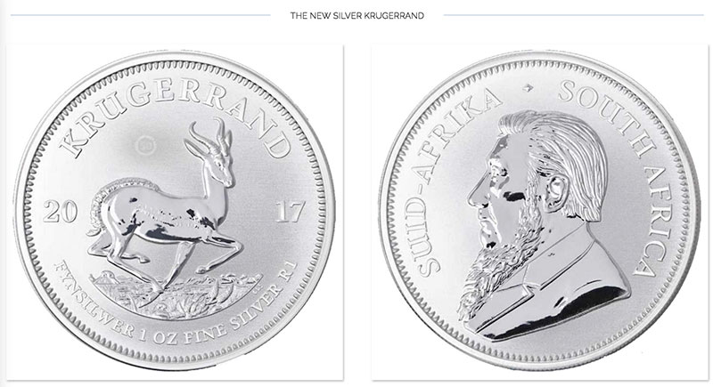 The New Silver Krugerrand