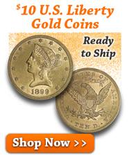 $10 U.S. Liberty Gold Coins