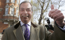 Nigel Farage Supports Hard Money