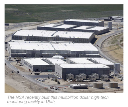 NSA's multibillion dollar high-tech monitoring facility