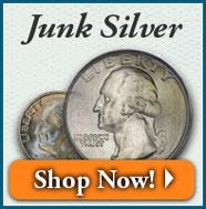 Junk Silver | Shop Now!