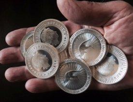 Perth Mint 1 troy oz. Silver Kangaroos