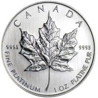 1 oz Platinum Maple Leaf