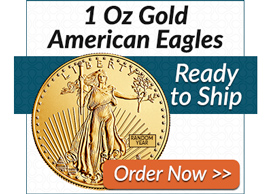 1 Oz Gold American Eagles | Order Now >>