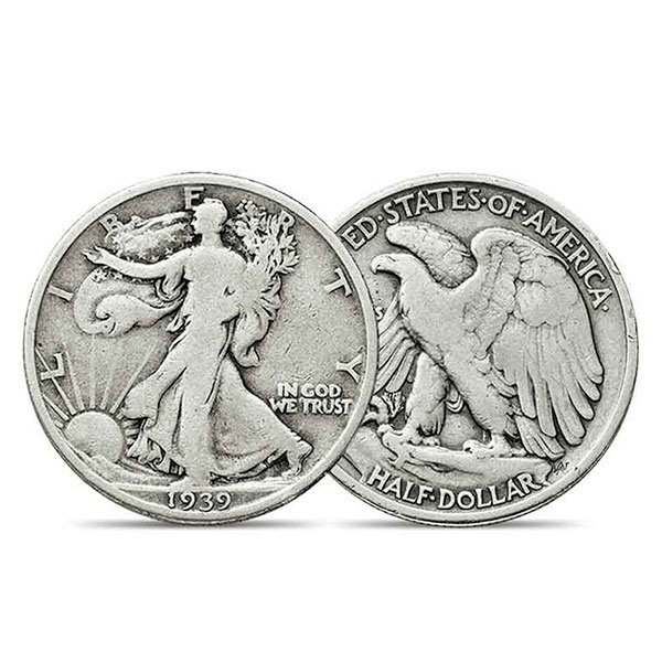 Walking Liberty 90% Silver Half Dollars