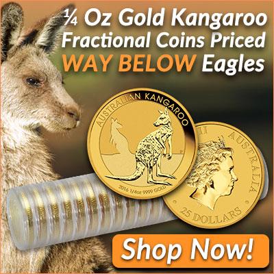 1/4 Oz Gold Kangaroo Promo