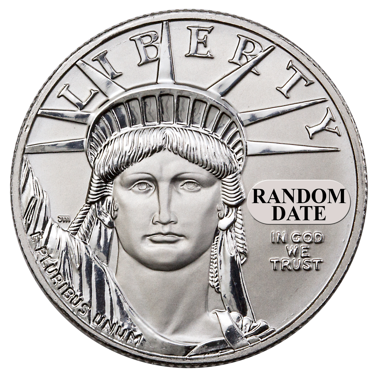 Platinum American Eagles - Fractional Sizes