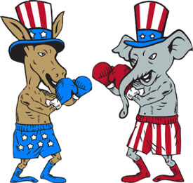 Republicans vs Democrats