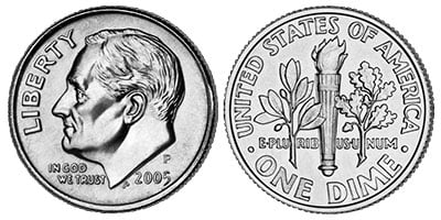 roosevelt silver dimes