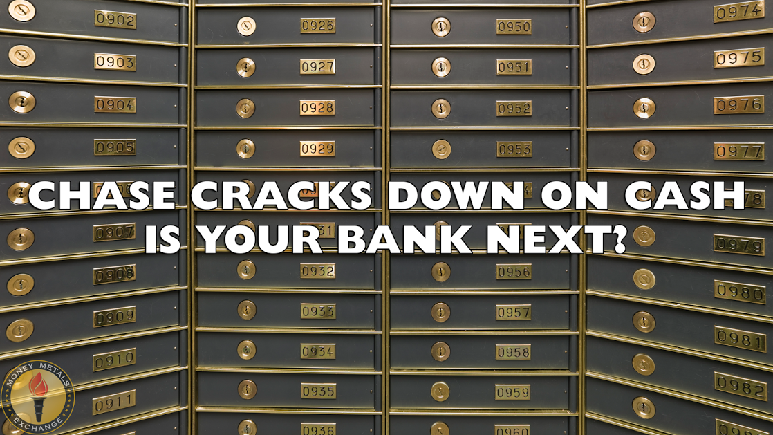The War on Cash Escalates as Cash is Forbidden in Deposit Boxes