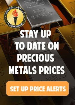 Set Precious Metals Price Alert