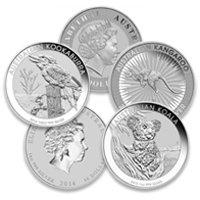 Buy Silver Australian Coins