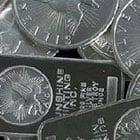 silver bullion coins and bars