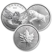 Buy Silver Canadian Coins