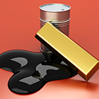 silver gold oil prices featured
