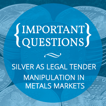 Silver As Legal Tender