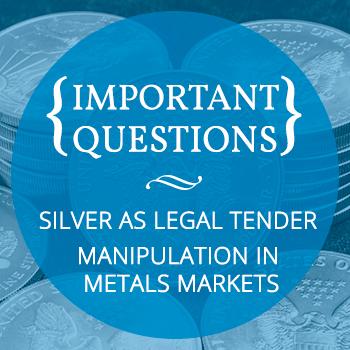 Silver As Legal Tender