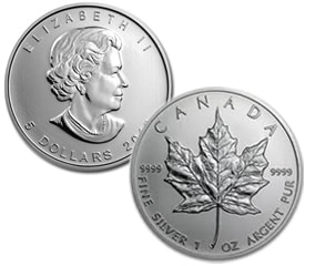 Royal Canadian Mint limits its distribution of silver maple leaf coins