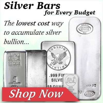 2017 - Silver Bars Promo All Sizes