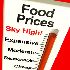Skyhigh Food Prices