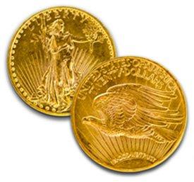 $20 Saint Gaudens Pre-1933 Double Eagle Coins