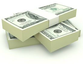Stack of Paper Money