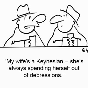 The Keynesian Model Comic