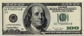 US 100 Dollar Bill