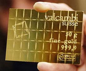 50 Gram Volcambi gold bars