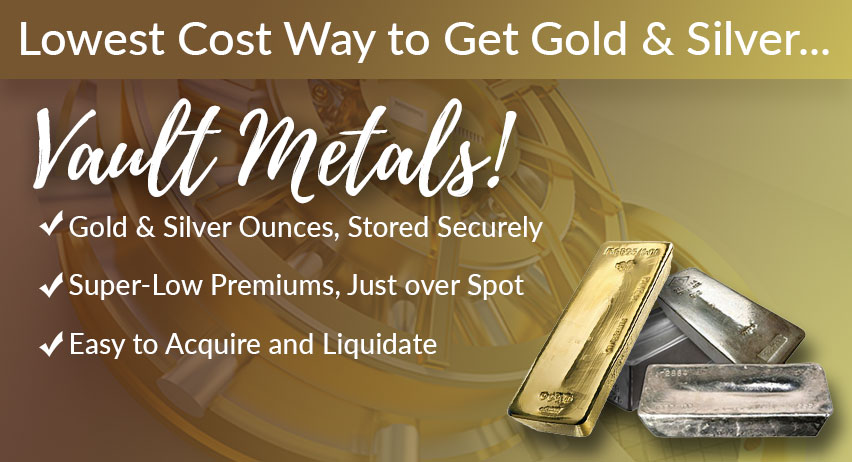 Secure, State-of-the-Art Depository to Store Your Gold & Silver